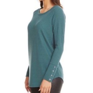 Chaser thermal long sleeve teal blue green M